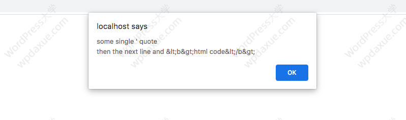WordPress开发中使用esc_html()等函数转义输出以提高安全性 (https://www.yunsxr.com/) WordPress开发教程 第4张