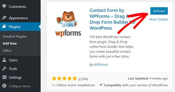 WordPress博客创建联系表单教程 (https://www.yunsxr.com/) WordPress入门 第2张