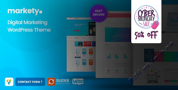 Markety v1.5 – WordPress SEO&数字营销主题