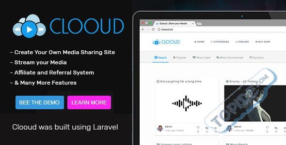 Clooud v1.4.0 – 专业级媒体分享系统