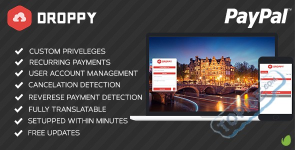Droppy 订阅插件 – Droppy 文件分享程序插件