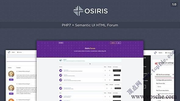 Osiris – 简易PHP论坛