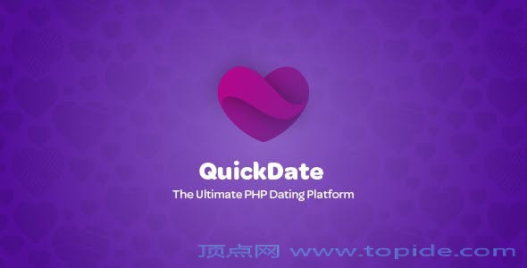 QuickDate v1.1.2 – PHP交友平台