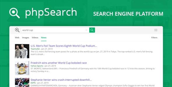phpSearch v4.3.0 – PHP搜索引擎源码