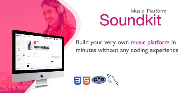 Soundkit v2.3.3 – PHP音乐社交分享平台