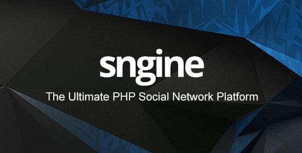 Sngine v2.6.1 – PHP社交平台源码破解版