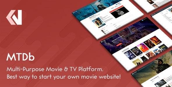 MTDb v3.2.2 – PHP电影&电视数据库