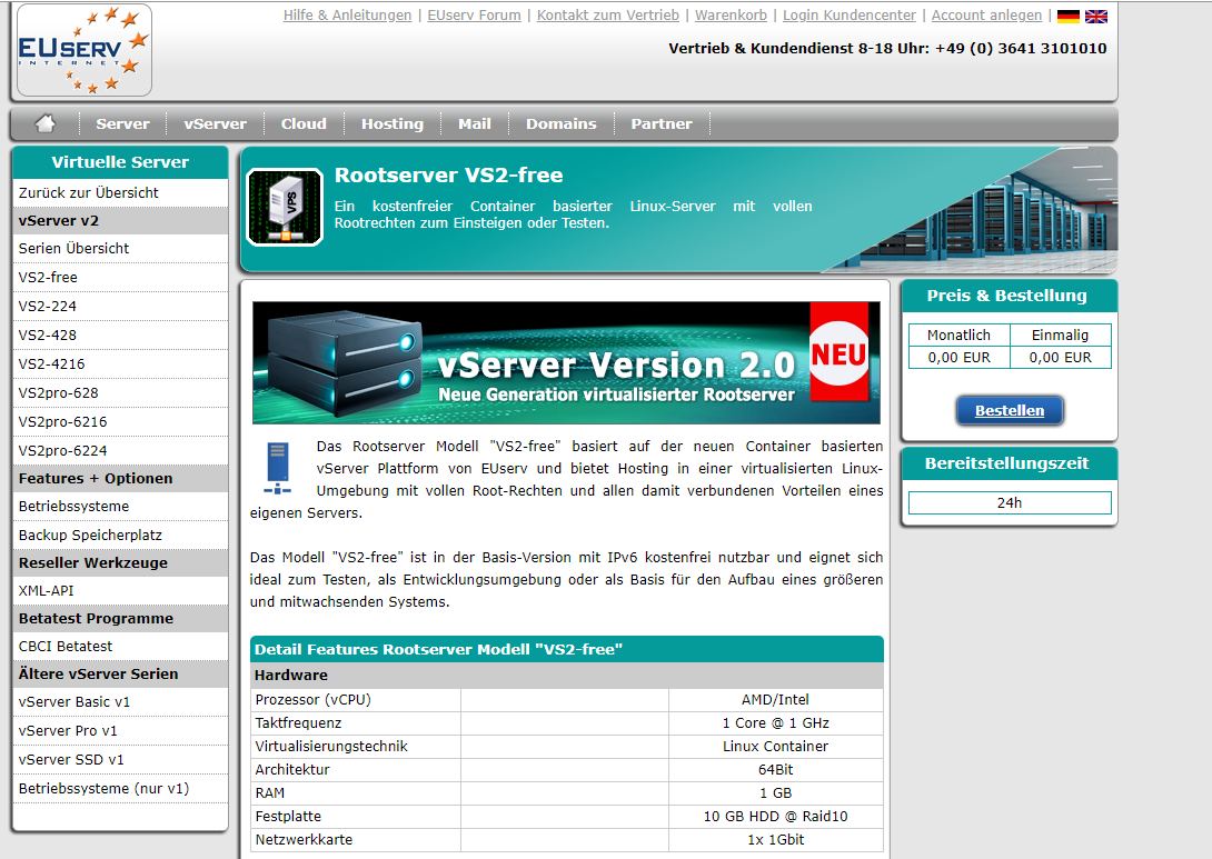 EUserv免费IPv6 VPS通过Github Action每月自动续费
