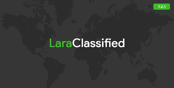 LaraClassified v7.2.1 – Geo 分类广告CMS破解版