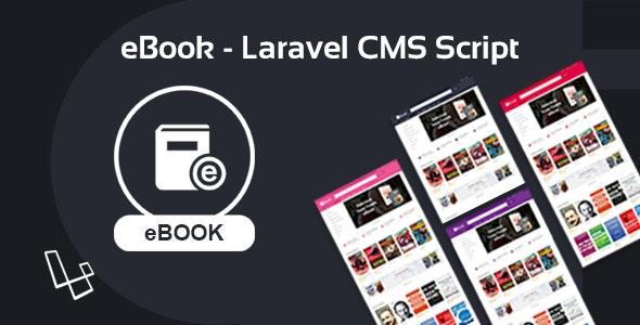 eBook v2.0.2 – Laravel CMS Script