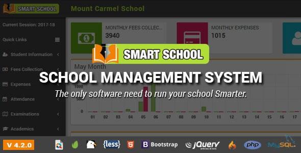 Smart School v6.1.0 –  PHP学校管理系统