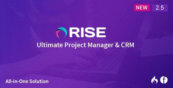 RISE v2.6.1 – PHP项目管理源码