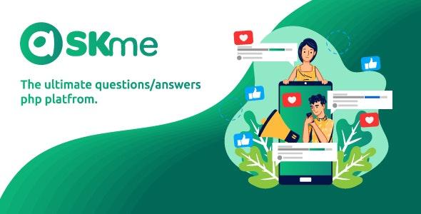 AskMe v1.1 – PHP问答社交平台源码