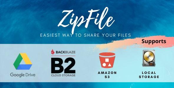 ZipFile v2.6 – File sharing在线文件分享