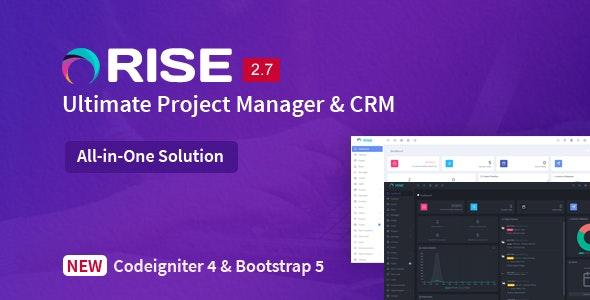 RISE v2.7 – PHP项目管理源码