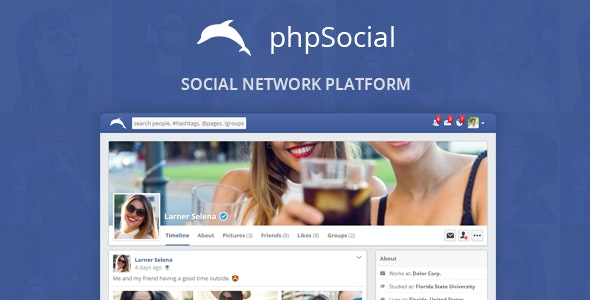 phpSocial v6.7.0 – PHP社交平台源码