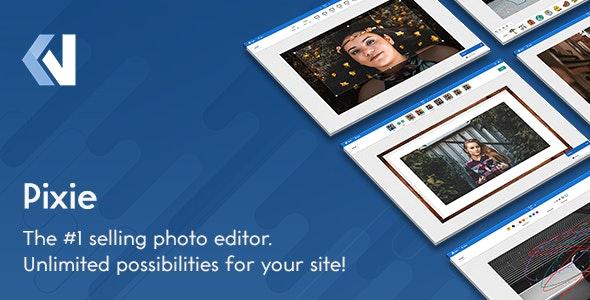 Pixie v2.2.2 – PHP在线图像编辑器