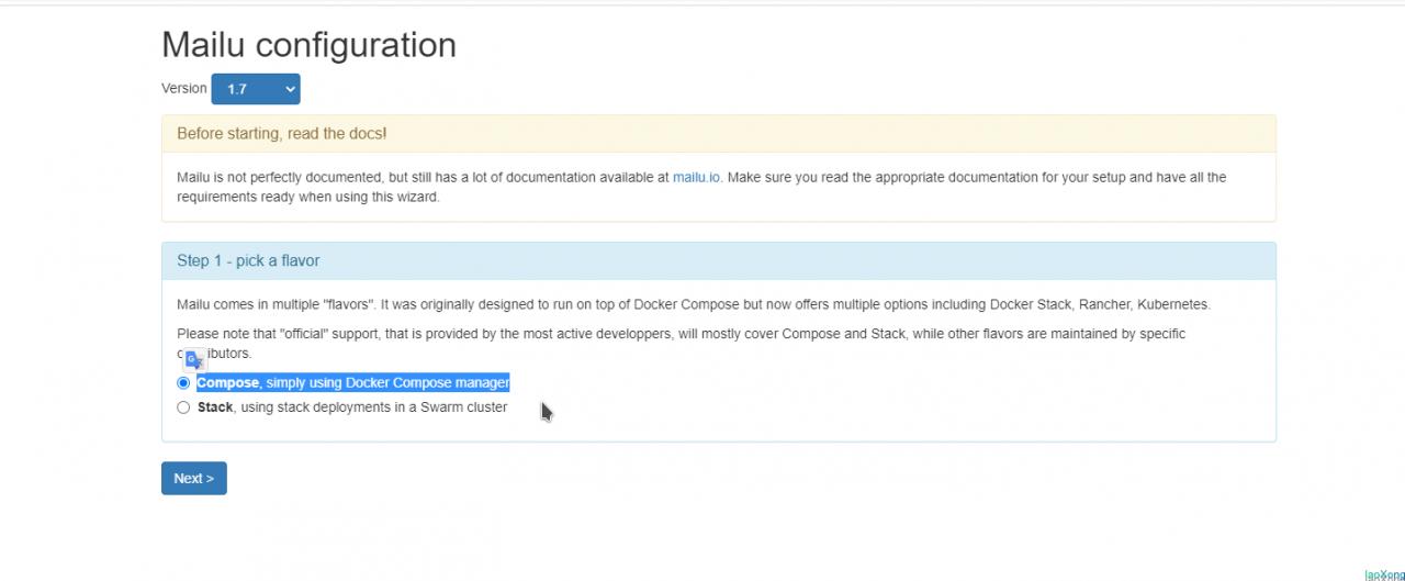 使用Mailu.io搭建域名邮箱